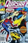 Quasar #7 Comic Books - Covers, Scans, Photos  in Quasar Comic Books - Covers, Scans, Gallery