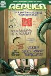 Replica comic books