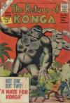 Return of Konga Comic Books. Return of Konga Comics.