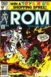 Rom #11 comic books for sale