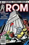 Rom #23 Comic Books - Covers, Scans, Photos  in Rom Comic Books - Covers, Scans, Gallery