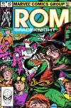 Rom #40 comic books for sale