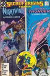Secret Origins #13 comic books for sale