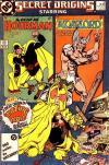 Secret Origins #16 comic books for sale