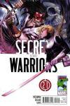 Secret Warriors #21 comic books for sale
