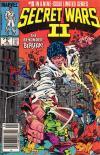 Secret Wars II #8 comic books for sale
