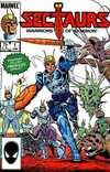 Sectaurs Comic Books. Sectaurs Comics.