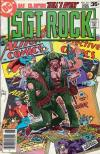Sgt. Rock #317 comic books for sale