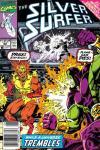 Silver Surfer #52 comic books for sale