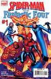 Spider-Man and the Fantastic Four Comic Books. Spider-Man and the Fantastic Four Comics.