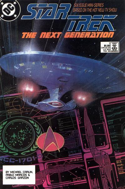 Star Trek: The Next Generation # comic book complete sets Star Trek: The Next Generation # comic books