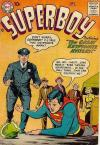Superboy #58 comic books for sale