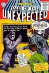 Tales of the Unexpected comic books