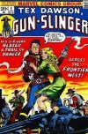Tex Dawson: Gun-Slinger Comic Books. Tex Dawson: Gun-Slinger Comics.