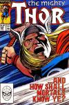 Thor #394 Comic Books - Covers, Scans, Photos  in Thor Comic Books - Covers, Scans, Gallery