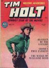 Tim Holt Comic Books. Tim Holt Comics.