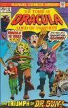 Tomb of Dracula #40 comic books for sale