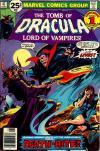 Tomb of Dracula #47 comic books for sale