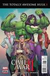 Totally Awesome Hulk #8 comic books for sale