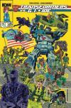 Transformers vs. G.I. Joe Comic Books. Transformers vs. G.I. Joe Comics.