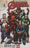 Uncanny Avengers #6 comic books for sale