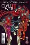 Uncanny Inhumans #12 comic books for sale