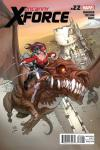 Uncanny X-Force #22 comic books for sale