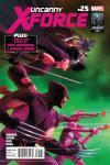 Uncanny X-Force #25 comic books for sale