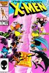 Uncanny X-Men #208 comic books for sale