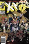 Uncanny X-Men #252 comic books for sale