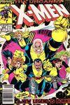 Uncanny X-Men #254 comic books for sale