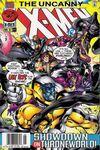Uncanny X-Men #344 comic books for sale
