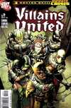 Villains United #3 comic books for sale