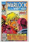 Warlock and the Infinity Watch #3 comic books for sale