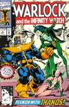 Warlock and the Infinity Watch #8 comic books for sale