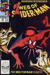 Web of Spider-Man #62 Comic Books - Covers, Scans, Photos  in Web of Spider-Man Comic Books - Covers, Scans, Gallery