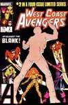 West Coast Avengers #2 comic books for sale