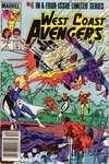 West Coast Avengers #4 comic books for sale