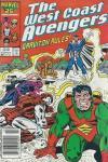 West Coast Avengers #13 comic books for sale