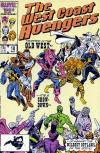 West Coast Avengers #18 comic books for sale