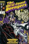 West Coast Avengers #23 comic books for sale