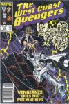 West Coast Avengers #23 comic books for sale