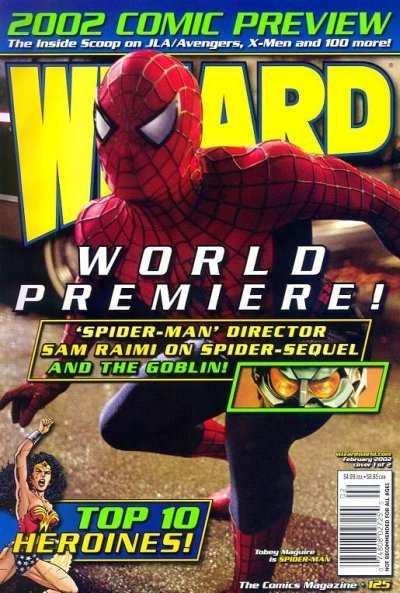 Wizard Magazine #125 comic books for sale