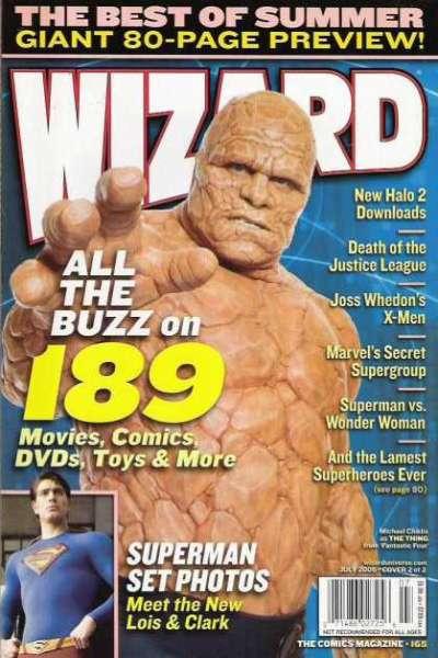 Wizard Magazine #165 comic books for sale