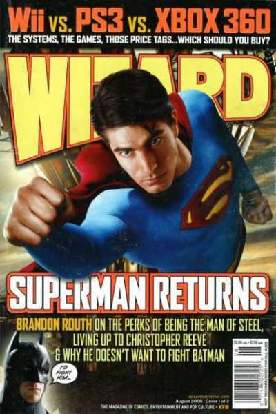 Wizard Magazine #178 comic books for sale