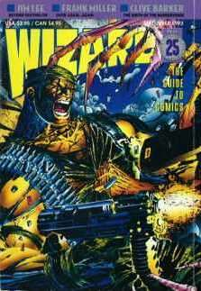 Wizard Magazine #25 comic books for sale