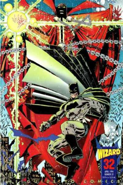 Wizard Magazine #32 comic books for sale