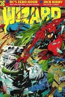 Wizard Magazine #36 comic books for sale
