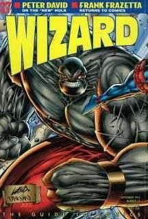 Wizard Magazine #37 comic books for sale