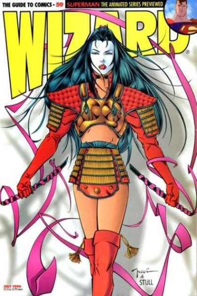Wizard Magazine #59 comic books for sale